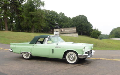 1957 E Model at Fort Donaldson National Battlefield, TN enroute to CTCI Knoxville Convention from Newcastle, WA